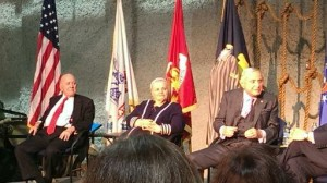 The Survivors Panel at the National WWII Museum