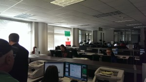Ancestry Team Members silently operate their scanners, ensuring more genealogical data reaches its users.