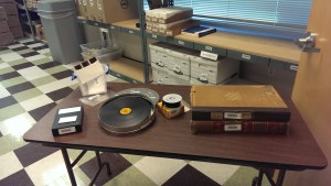 Primary sources can be found on many types of material and media, including, for example, computer discs, picture slides, film stock, microfiche, and book registers