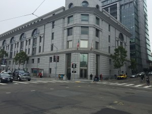 Shar Mansukhani and John Hilbert of Heir Hunters International Often Conduct Research at the San Francisco Superior Court located at    , on the Civil Center square.