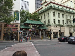 The Gates to San Francisco's China Town area.