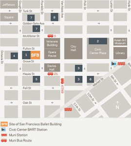 All your genealogical research sites face the Civil Center Plaza of San Francisco.